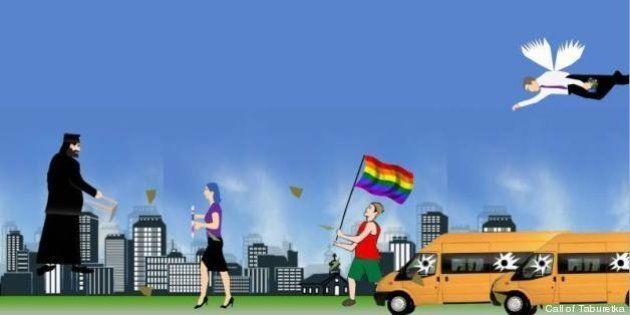 Call of Taburetka: il videogame anti gay di Facebook. L'ideatore lo chiude dopo le polemiche