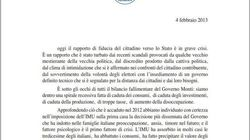 Silvio Berlusconi scrive una lettera agli italiani: