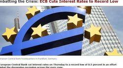 Tassi d'interesse al minimo storico, il contrattacco di Draghi sui siti