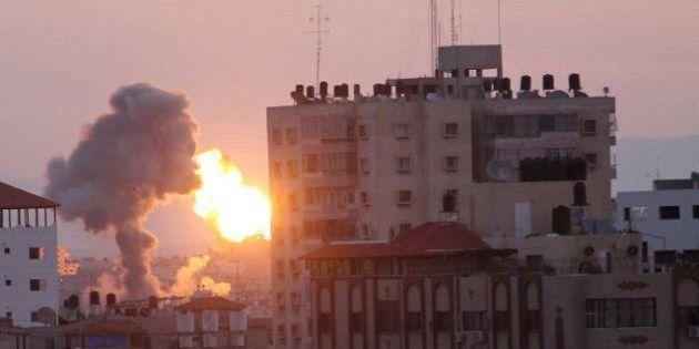Gaza: Raid Di Israele Durante La Visita Del Premier Egiziano. Missili A Gerusalemme E Tel Aviv