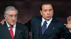 Panico da ecatombe giudiziaria in Forza Italia. Berlusconi teme i domiciliari, Dell'Utri rischia l'arresto e Verdini sulla