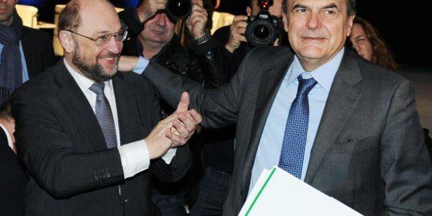 Elezioni 2013: Pier Luigi Bersani al convegno con i progressisti europei: