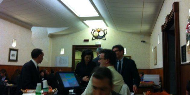 Laura Boldrini a pranzo alla mensa di Montecitorio. E oggi la prima uscita pubblica dopo l'insediamento:...