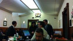Laura Boldrini a pranzo alla mensa di Montecitorio. E oggi la prima uscita pubblica dopo l'insediamento: sui costi dei palazz...