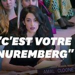 Amal Clooney réclame un