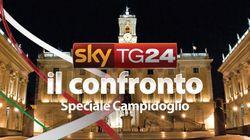 Ballottaggio Roma: sfida Alemanno-Marino su Sky