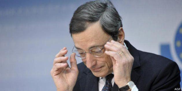 Mario Draghi (Bce) delude i mercati e lo spread risale a