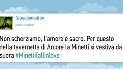Minetti e Berlusconi: il #veroamore raccontato su Twitter (TWEET, FOTO,