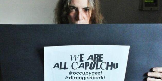 Occupy Istanbul: Patti Smith e Chomsky: