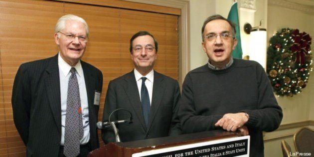 Sergio Marchionne contro Mario Draghi: