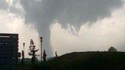 Tromba d'aria Emilia, a San Martino Spino danni per 5 milioni di euro (FOTO,