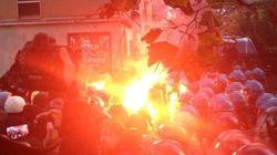 Alla Bocconi fumogeni e scontri con la polizia