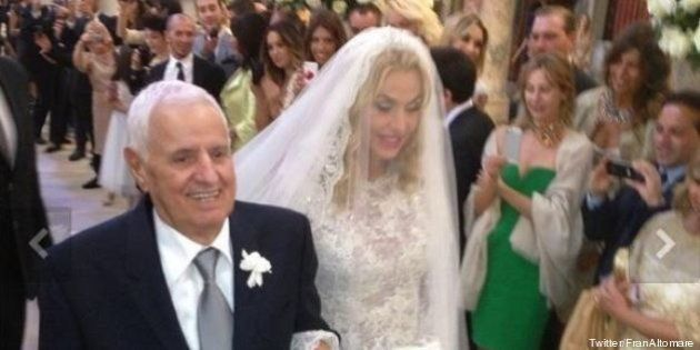 Matrimonio Valeria Marini in diretta su RaiUno, polemiche su Twitter:
