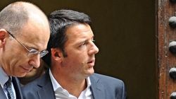 Enrico Letta e Matteo Renzi, due leader, un patto,