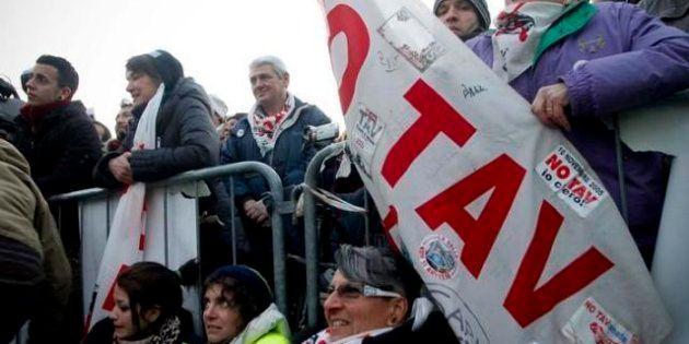 No Tav: il giorno della marcia Susa-Bussoleno, parlamentari M5s e Sel in cantiere, Crimi: