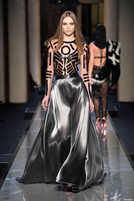 Parigi fashion week 2014, Atelier Versace sfila a Parigi. Il