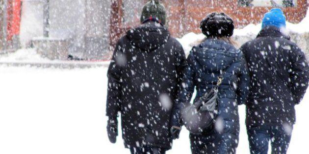 Maltempo ecco big snow: l'Italia si sveglia coperta di neve. Torino,Milano e Genova già imbiancate