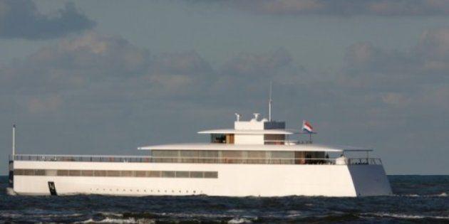 Venus, lo yacht di Steve Jobs è salpato: la barca