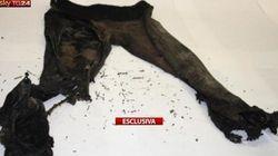 Le foto dei vestiti che indossava Yara al momento dell'omicidio