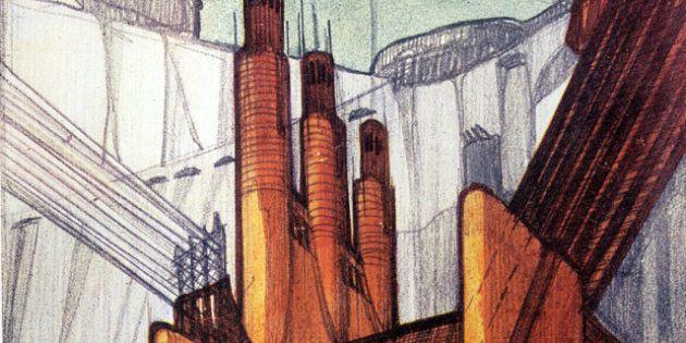 Architettura: cent'anni di visioni urbane in mostra a Como, da Sant'Elia a Lloyd Wright (FOTO,