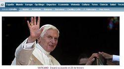 Il Papa si dimette, la notizia sui siti internazionali