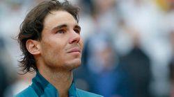 La gaffe di Rafael Nadal