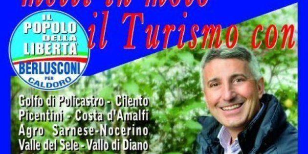 Alberico Gambino, ex sindaco Pdl di Pagani, dopo il carcere fa il testimonial per occhiali e gioielli