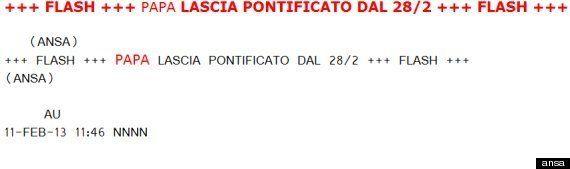 Dimissioni Papa, ecco chi ha dato la notizia a tutto il mondo: è Giovanna Chirri dell'Ansa. La storia...