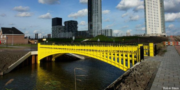 Robin Stam: i ponti dell'Europa. E le costruzioni sulle banconote diventano realtà