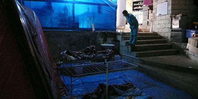 Nella grotta-ospedale dei ribelli e l'esercito