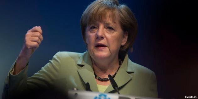 Bce, Angela Merkel difende Mario Draghi: