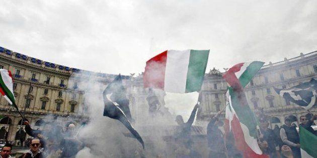CasaPound, cresce la mobilitazione antifascista contro il corteo del 24. Ma i neofascisti sfileranno:...