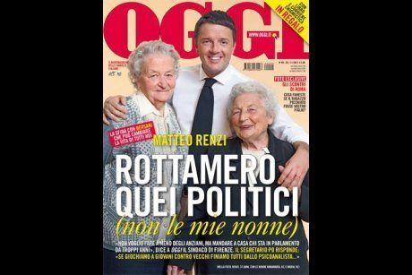 Matteo Renzi in copertina su