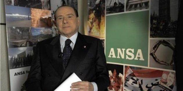 Elezioni 2013: Silvio Berlusconi al forum dell'Ansa: