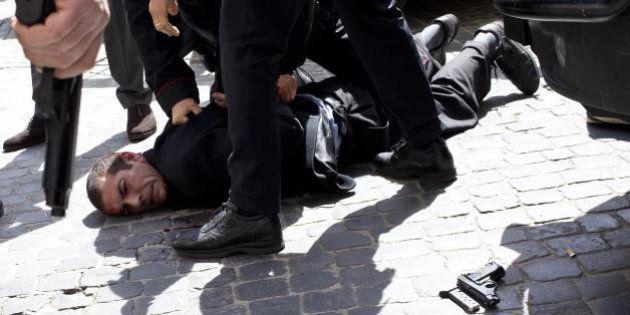 Luigi Preiti condannato a 16 anni di carcere per la sparatoria davanti a Palazzo Chigi