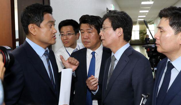 김관영 원내대표가 결국 '사보임' 카드를 꺼내