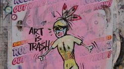 Quando la spazzatura si trasforma in arte