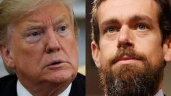 Su última niñería: Trump se queja al jefe de Twitter de su pérdida de