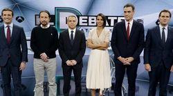 El debate de Atresmedia arrasa con 9,5 millones de espectadores y supera al de