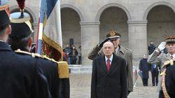 Napolitano fa chiarezza e torna a non escludere il Monti
