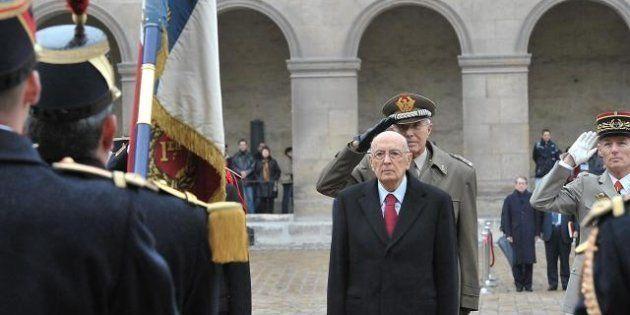 Napolitano: Monti non può candidarsi, è già senatore a vita. Ma è a disposizione per un bis. (E striglia...