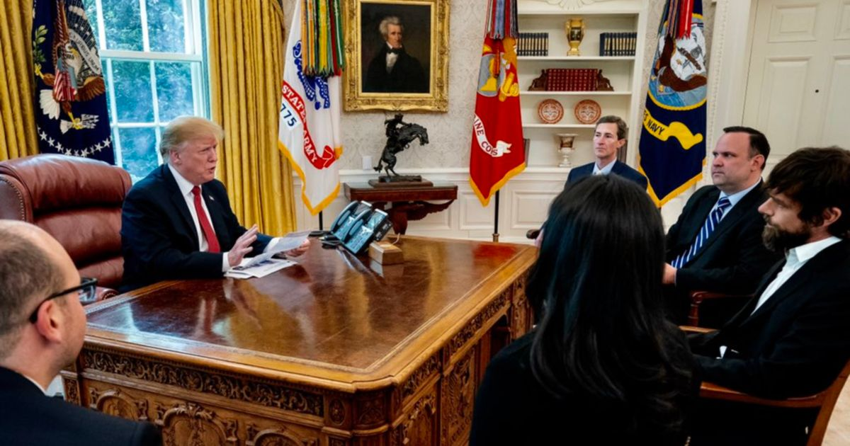 Trump Met Twitter CEO and Complained About Losing