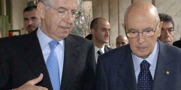 Il presidente Napolitano su futuro Mario Monti: parole che mettono in difficoltà Montezemolo e i
