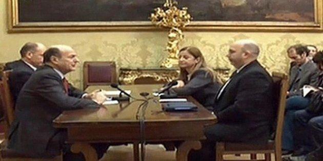 Il no dei grillini a Bersani: