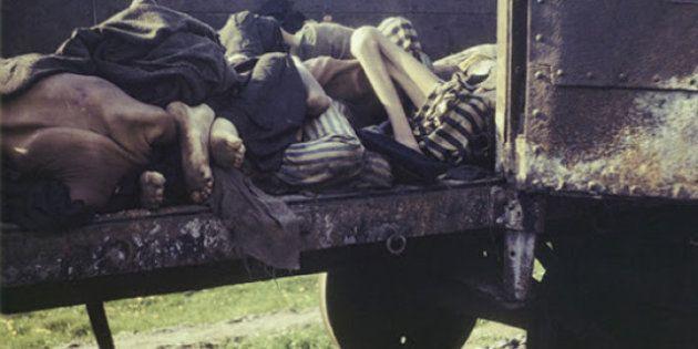 Olocausto: l'orrore dei campi di concentramento a colori