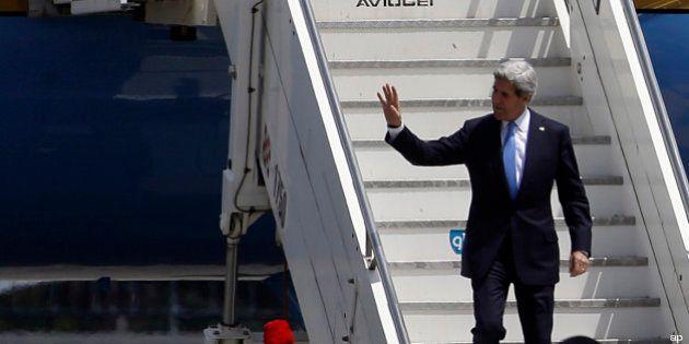 John Kerry a Roma incontra Tzipi Livni, Enrico Letta ed Emma Bonino. Sul tavolo dossier Palestina e