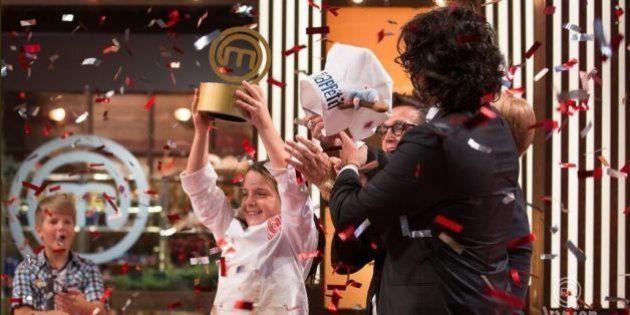 Junior masterchef vince Emanuela: in cucina con grinta a 9 anni. Aspettando