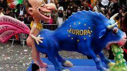 Berlusconi raffigurato così nel più importante carnevale tedesco