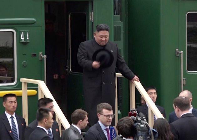 Kim Jong Un est arrivé en Russie pour son premier sommet avec