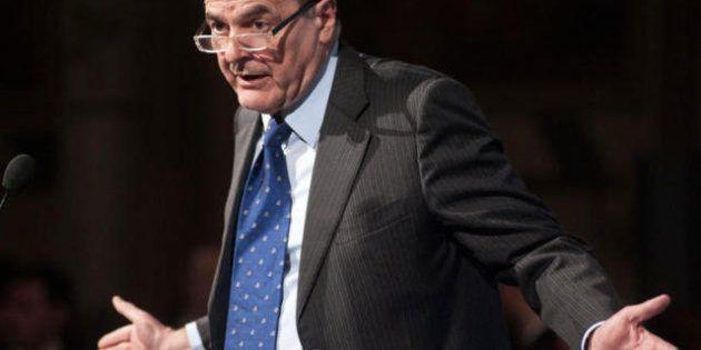 Elezioni 2013, Bersani lancia un referendum sull'Europa. E poi attacca Monti su Finmeccanica. Doveva...